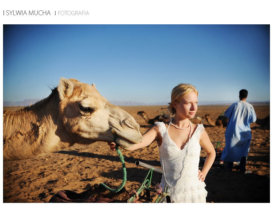 plener ślubny Afryka