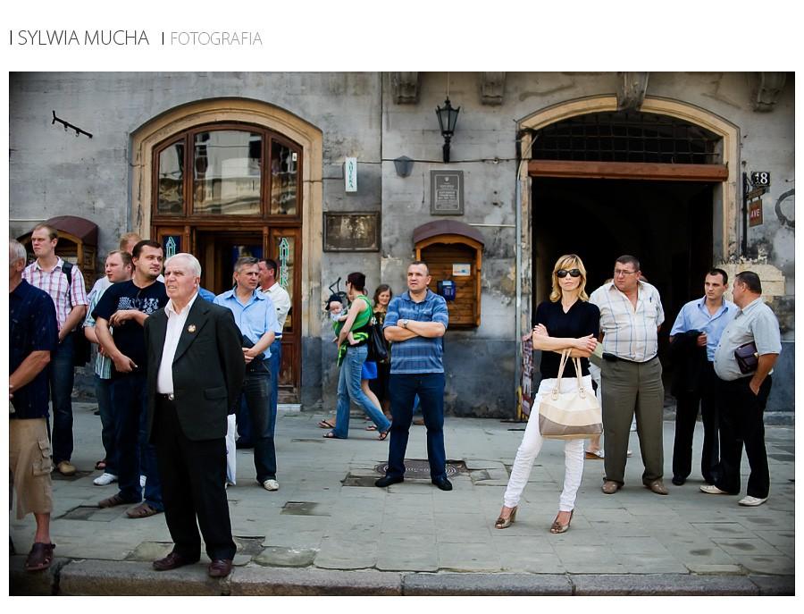 Ukraina Lwów manifestacja